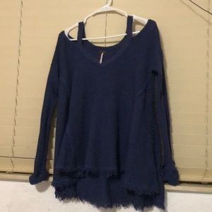 Free People cold shoulder Tunic XS
